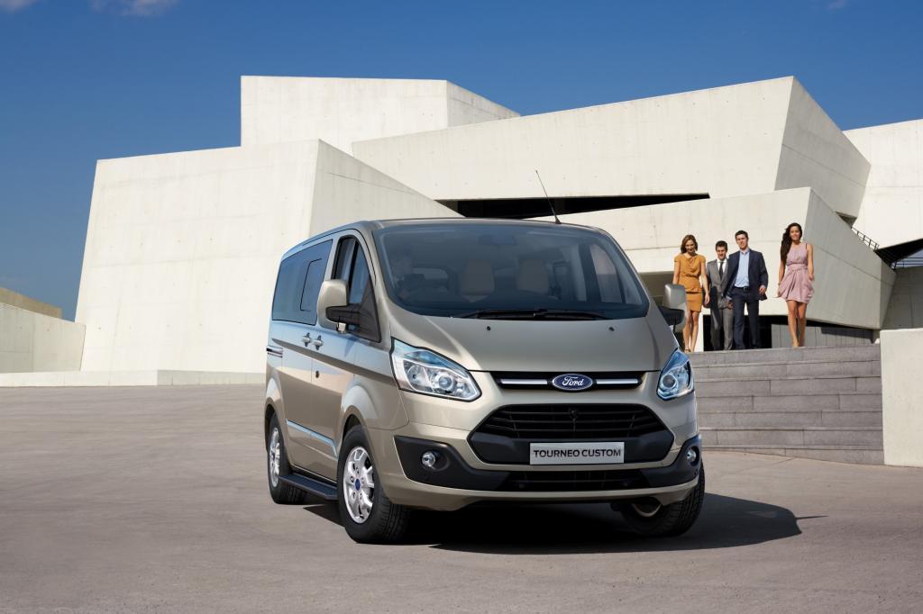 Test: Ford Tourneo Custom - Fahren und laden fast ohne Grenzen