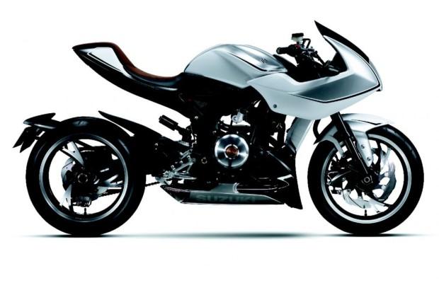 Tokio 2013: Motorrad-Studie mit Turbo von Suzuki