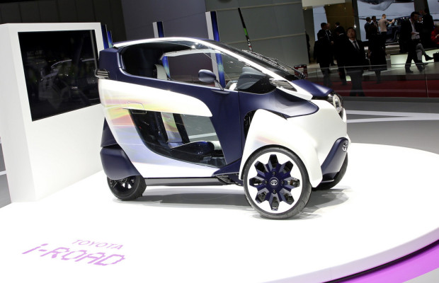Tokyo 2013: Toyota zeigt Smart Mobility