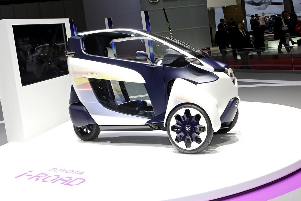 Tokyo 2013: Toyota zeigt Smart Mobility