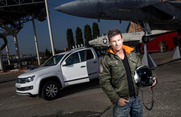 VW Amarok Canyon soll mit Felix Baumgartner Fahrt aufnehmen