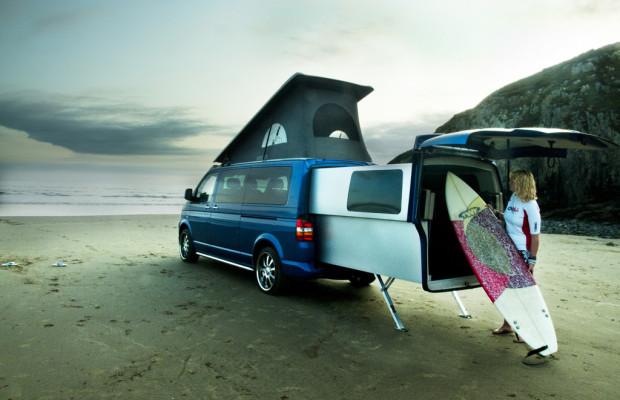 VW T5 Doubleback: Bitte ausziehen