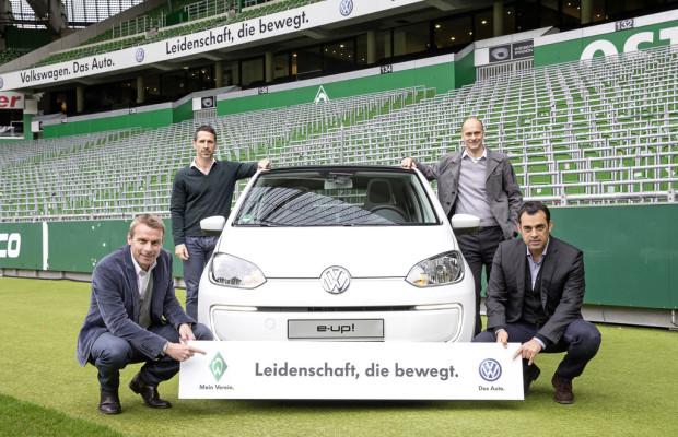 VW und Werder Bremen verlängern Partnerschaft
