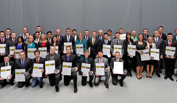 VW zeichnet seine weltweit besten Auszubildenden aus