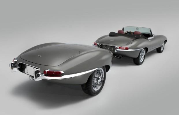 Veredelter Jaguar E-Type - Länger und mit Hänger