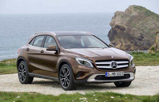 Verkauf des Mercedes-Benz GLA  startet