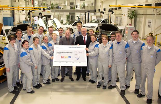 Volkswagen nimmt an RTL-Spendenmarathon teil
