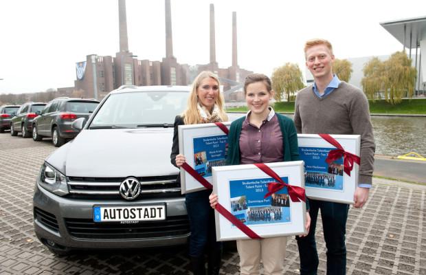 Volkswagen zeichnet engagierteste Talente aus