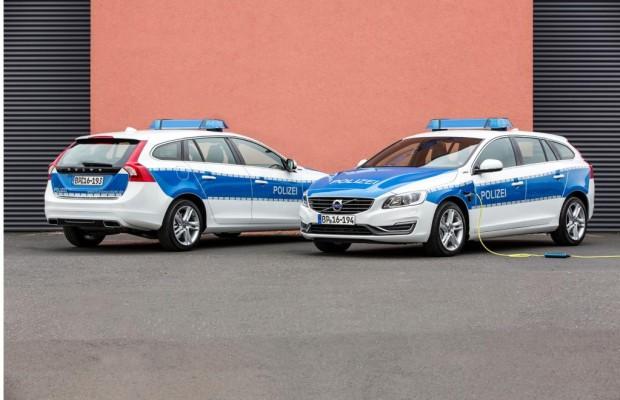 Volvo V60 Hybrid im Polizeidienst