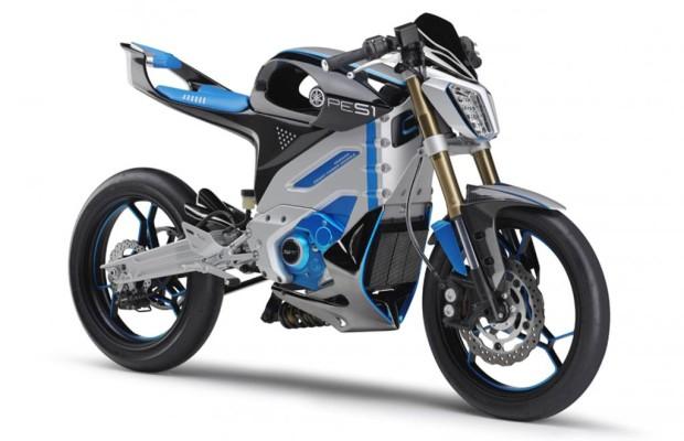 Yamaha zeigt Motorrad-Studien mit Elektromotor