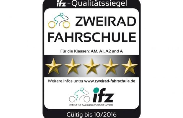 Zweirad-Fahrschulen mit Qualitätssiegel