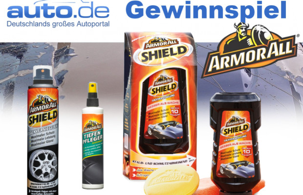 auto.de-Gewinnspiel: Wellness-Programm fürs Auto – Armor All Shield Sets