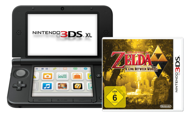auto.de-Weihnachtsgewinnspiel: A Legend of Zelda - A Link between Worlds plus Nintendo 3DS XL