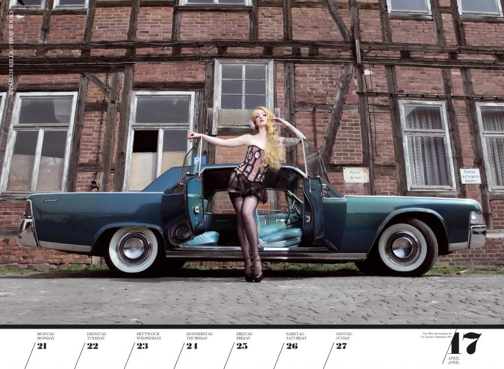 auto.de-Weihnachtsgewinnspiel: Girls & Legendary US-Cars Wochenkalender 2014