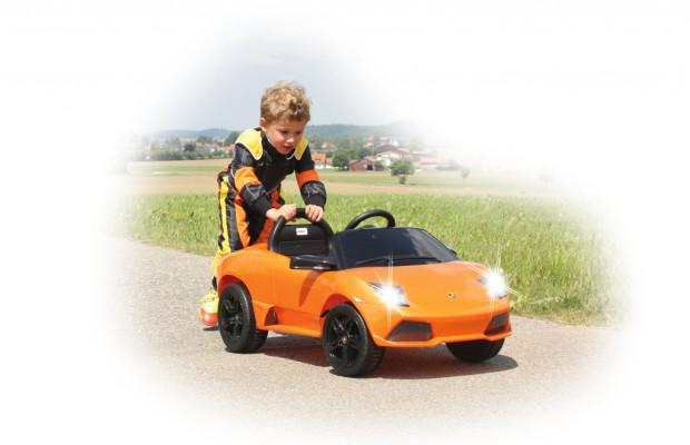 auto.de-Weihnachtsgewinnspiel: Ride-on Lamborghini Murciélago Roadster von Jamara