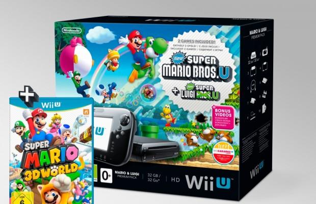 auto.de-Weihnachtsgewinnspiel: Super Mario 3D World und ein Mario & Luigi Premium Pack