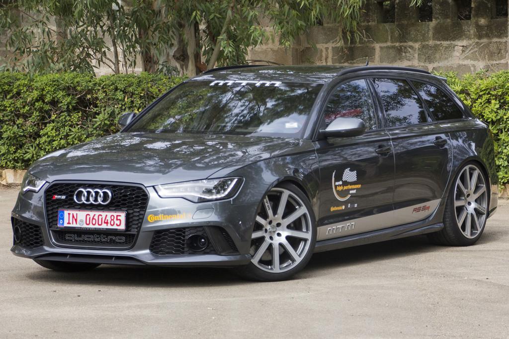 Der Audi RS 6 von MTM erreichte in Nardo eine Spitzengeschwindigkeit von 330,1 km/h.  Der Audi RS 6 von MTM erreichte in Nardo eine Spitzengeschwindigkeit von 330,1 km/h.