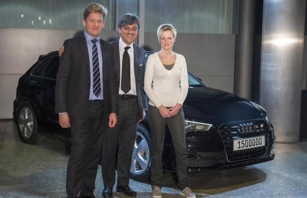 1,5-millionster Audi im laufenden Jahr übergeben