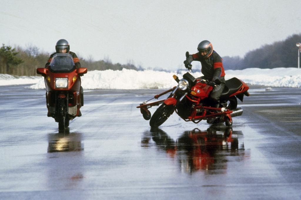 25 Jahre ABS im Motorrad - Lange Leitung