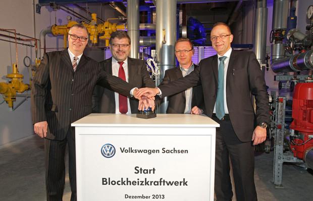 AUTO-MEDIENPORTAL: Volkswagen nimmt Blockheizkraftwerk ans Netz