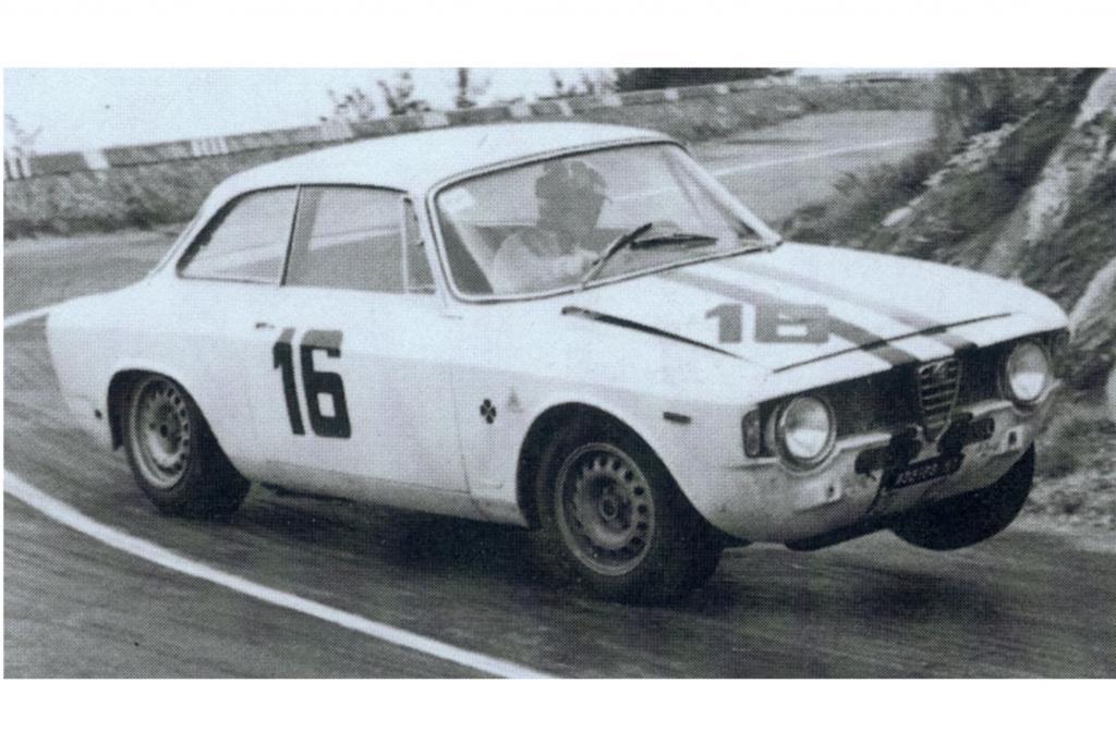 Alfa Romeo Giulia Coupe 1600 Sprint GTA Corsa im Motorsport ab 1966