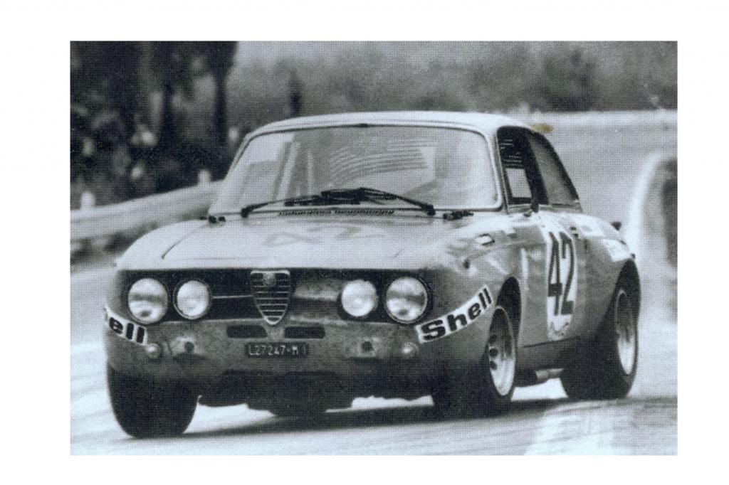 Alfa Romeo Giulia Coupe 1750 GTA im Motorsport ab 1970