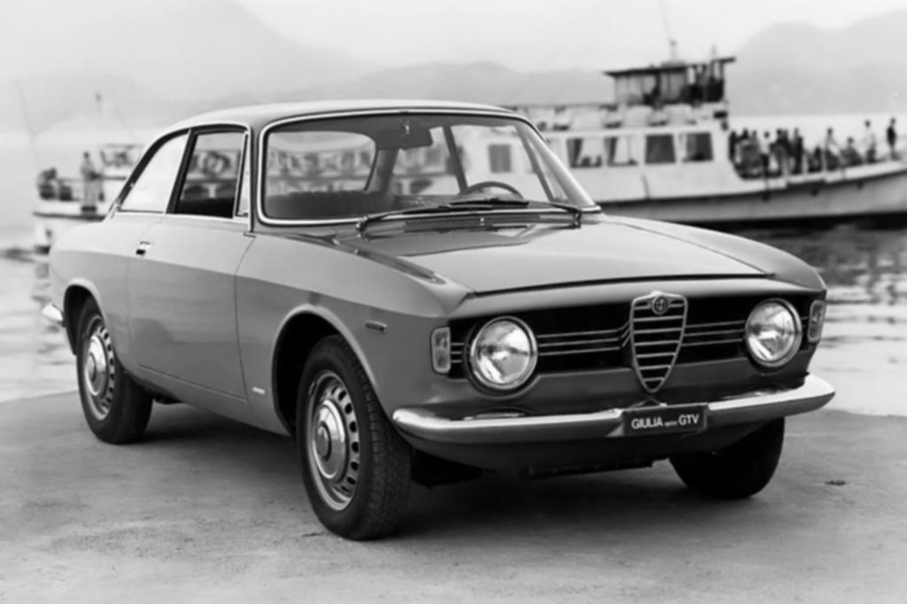 Alfa Romeo Giulia Sprint GT Bertone ab 1963