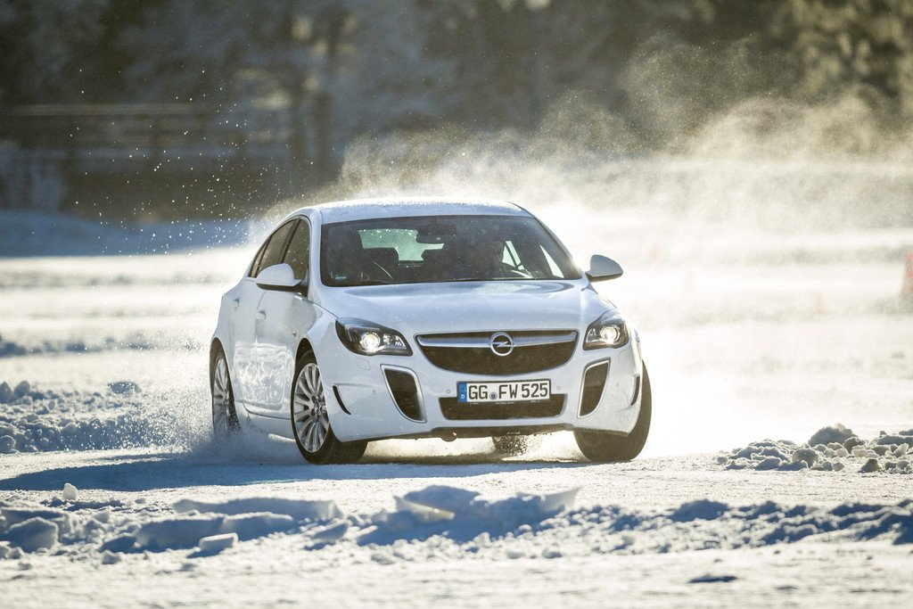 Allradantrieb bei Opel: Freiheitsgrade auf Schnee und Eis