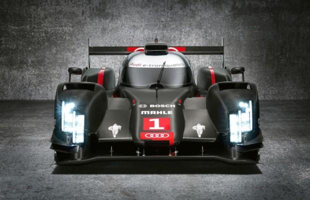 Audi mit Laser-Licht im Motorsport