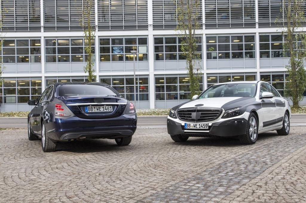 Auf Abnahmefahrt mit der neuen Mercedes C-Klasse
