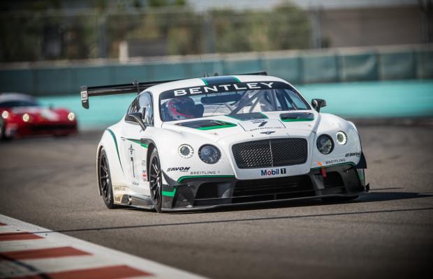 Bentley sieht seinen GT3 auf dem richtigen Weg