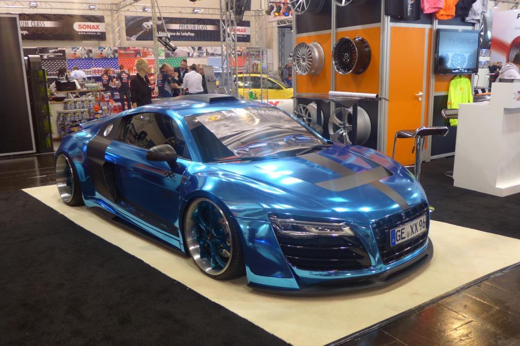 Car-Fashion ist wieder populär, die Kunden trauen sich was.
