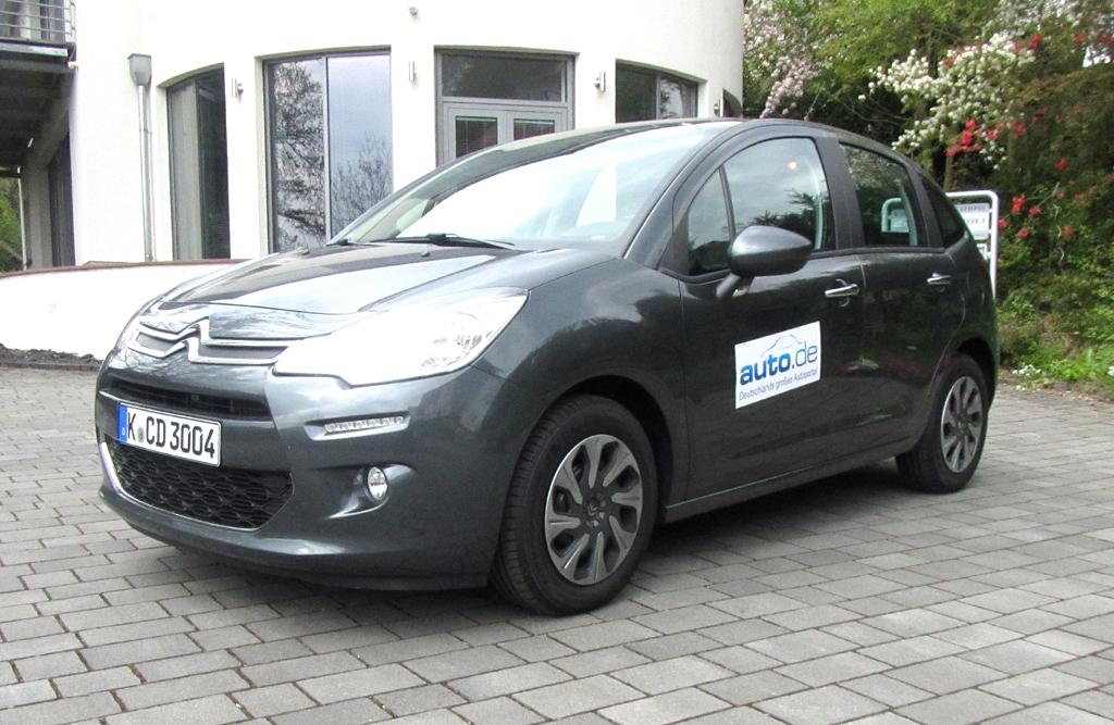 Citroën C3, hier allerdings als Tendance-Benziner.
