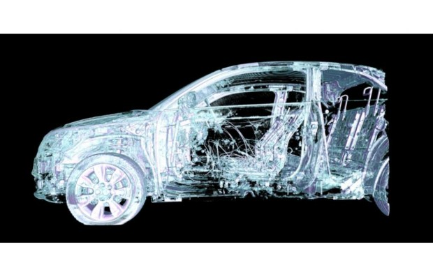 Computertomograph für die Fahrzeugentwicklung - Wenn das Auto in die Röhre muss