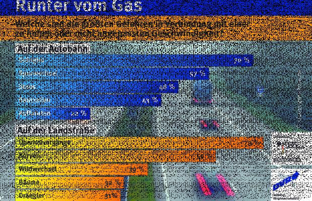 DVR appelliert: Runter vom Gas