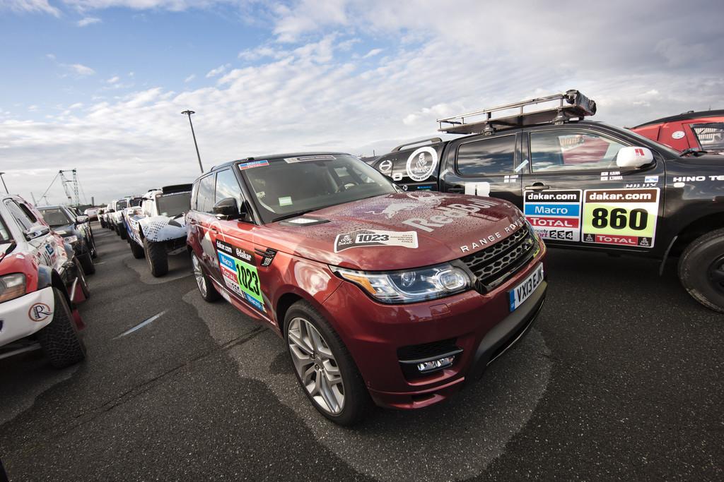 Dakar 2014: Land Rover unterstützt