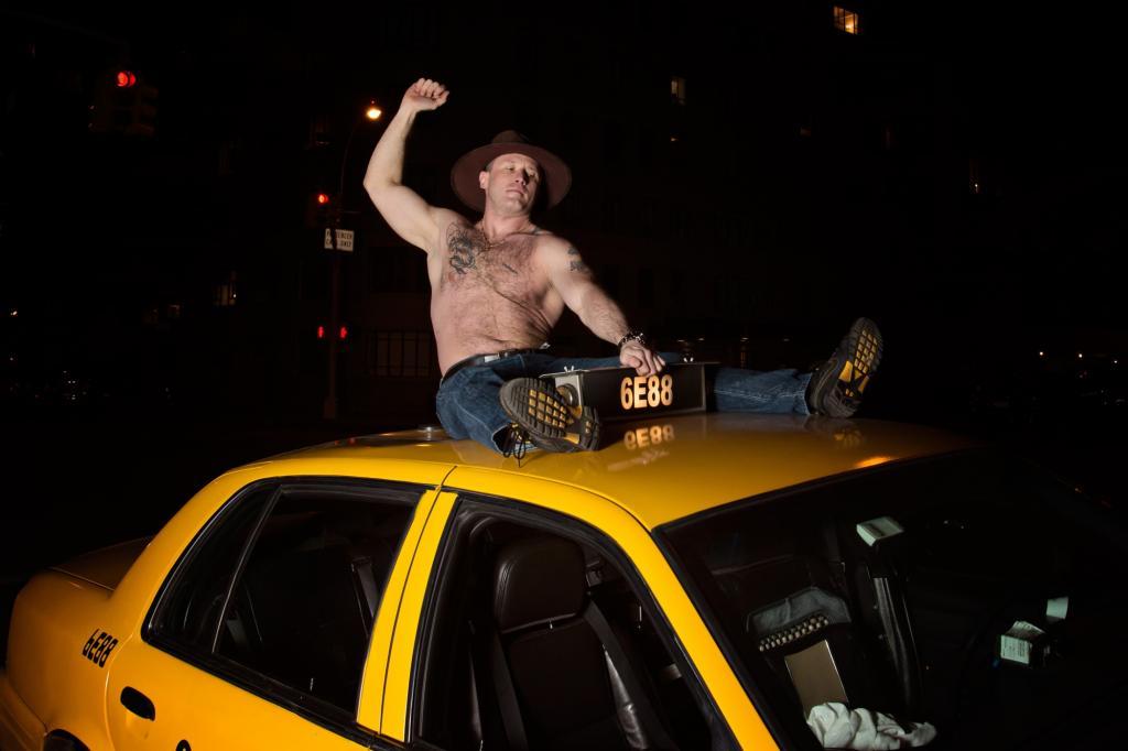 Darek ist der Cowboy unter den Taxifahrern