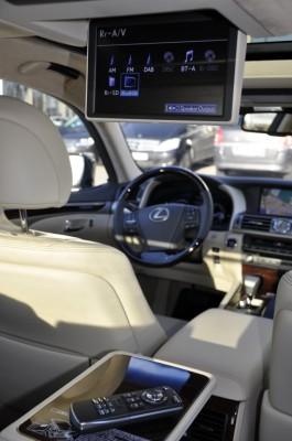Das Innenleben des Lexus LS 600h