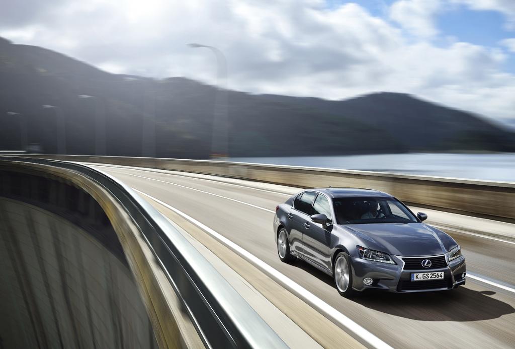 Der 300h ist neben dem 400h der zweite Vollhybrid in der Lexus-GS-Baureihe.
