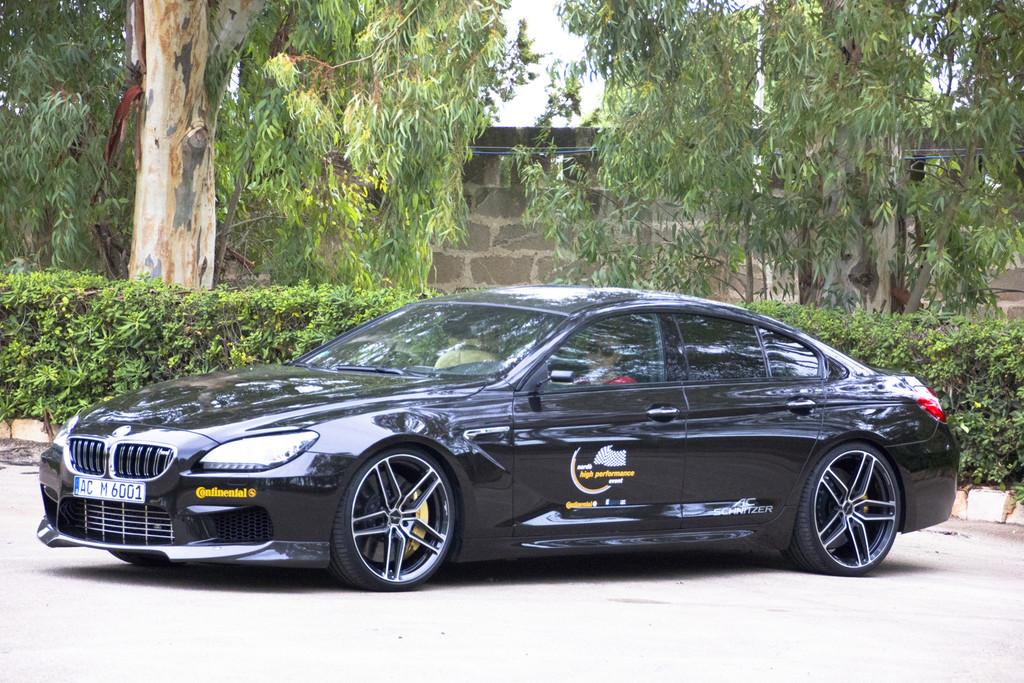 Der Langsamste war ein 270 km/h Der BMW M6 Gran Coupé mit 620 PS von AC Schnitzer erreichte in Nardo eine Höchstgeschwindigkeit von 328,9 km/h.