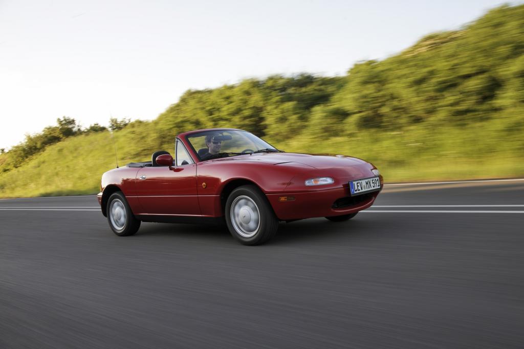 Der Mazda MX-5 wurde mit ähnlichem Konzept ein Welterfolg