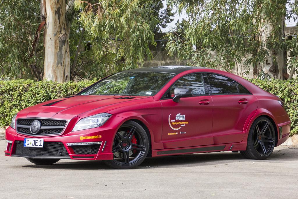 Der Mercedes CLS 63 AMG mit 680 PS von GSC erreichte in Nardo eine Spitzengeschwindigkeit von 339,2 km/h.