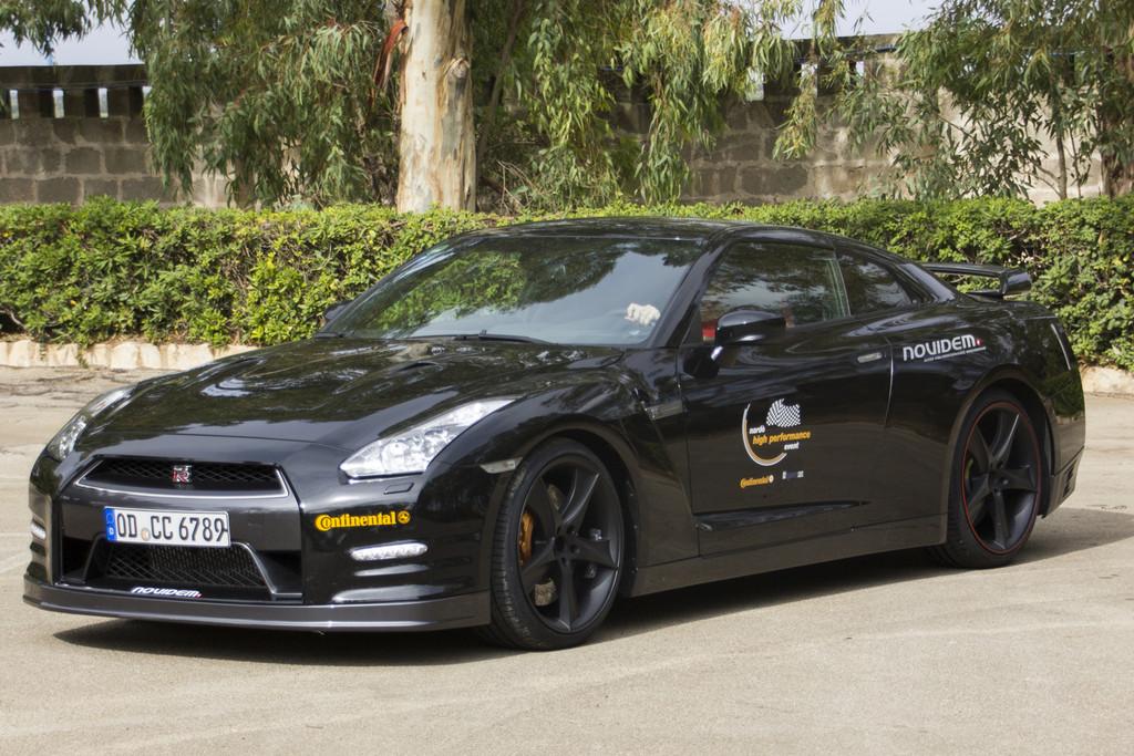 Der Nissan GT-R von Novidem mit 750 PS erreichte in Nardo 331 km/h.