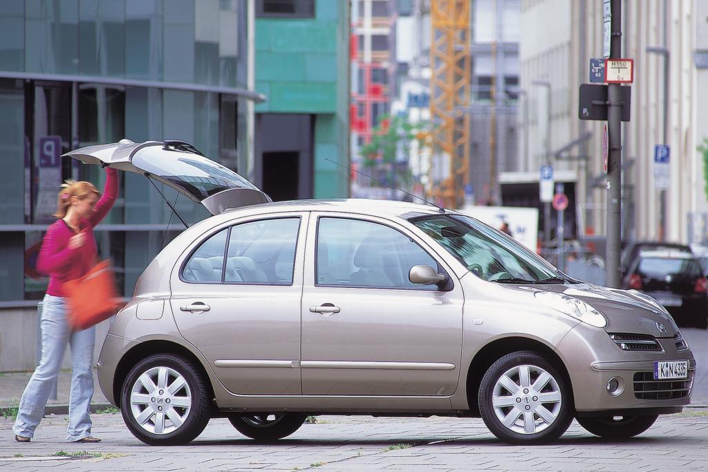 Der Nissan Micra ist vor allem bei Frauen beliebt