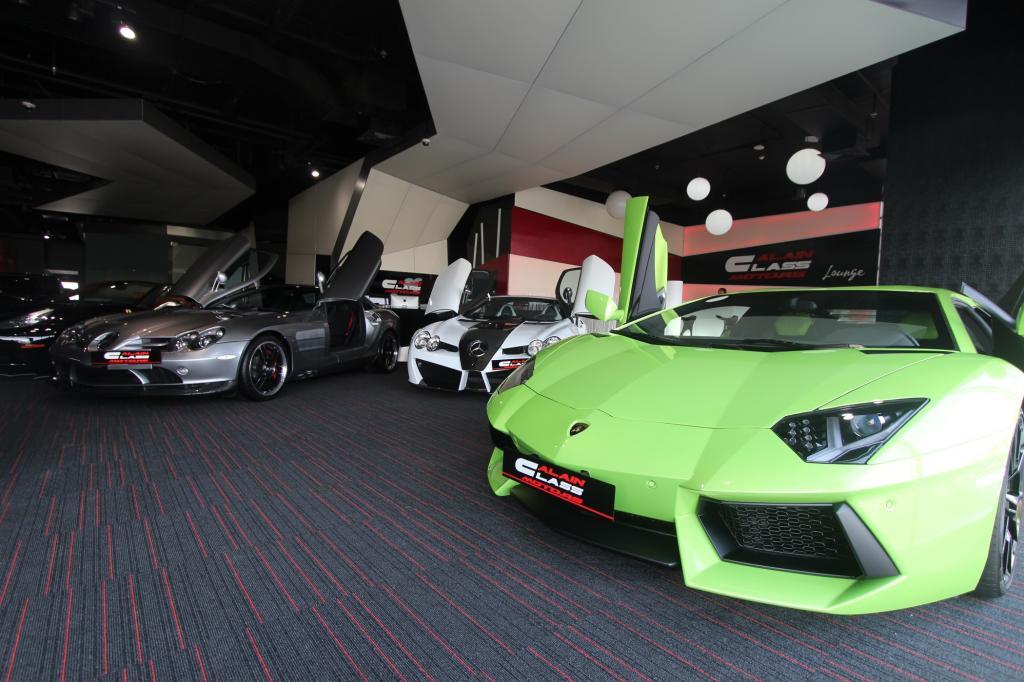 Der größte Sportwagenhändler der Welt