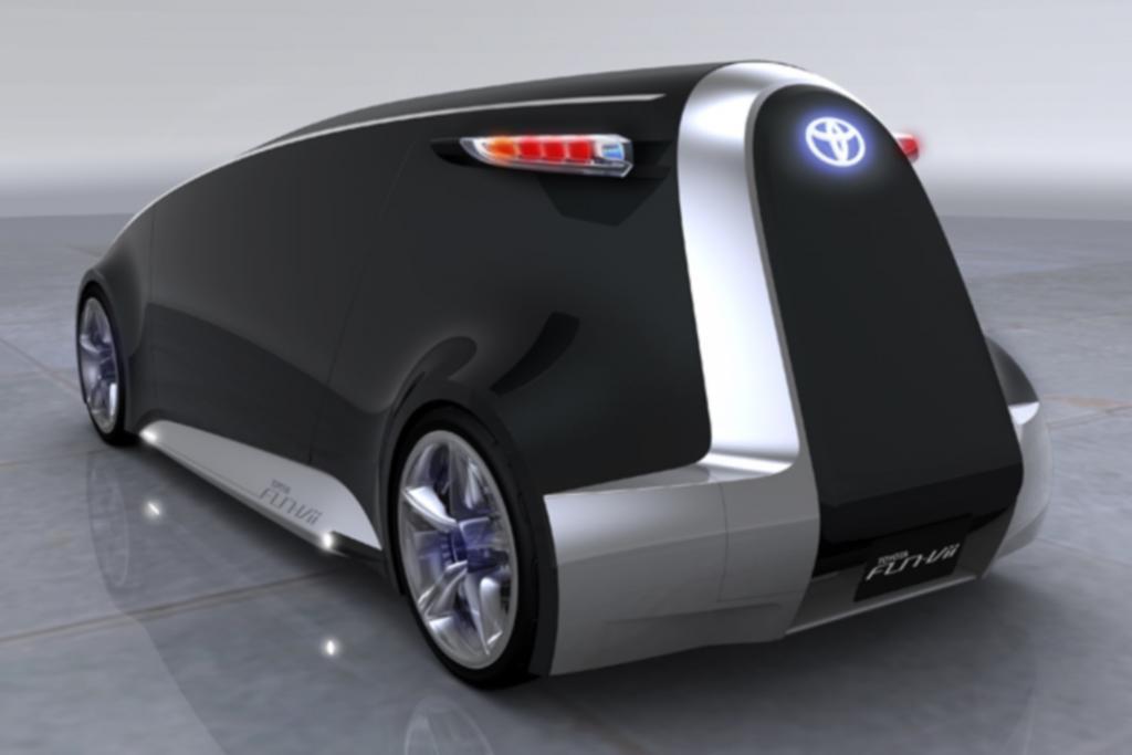 Eine ähnliche Idee hatte Toyota mit der Studie Fun Vii bereits, die sie 2011 auf der Tokyo Motor Show zeigten.