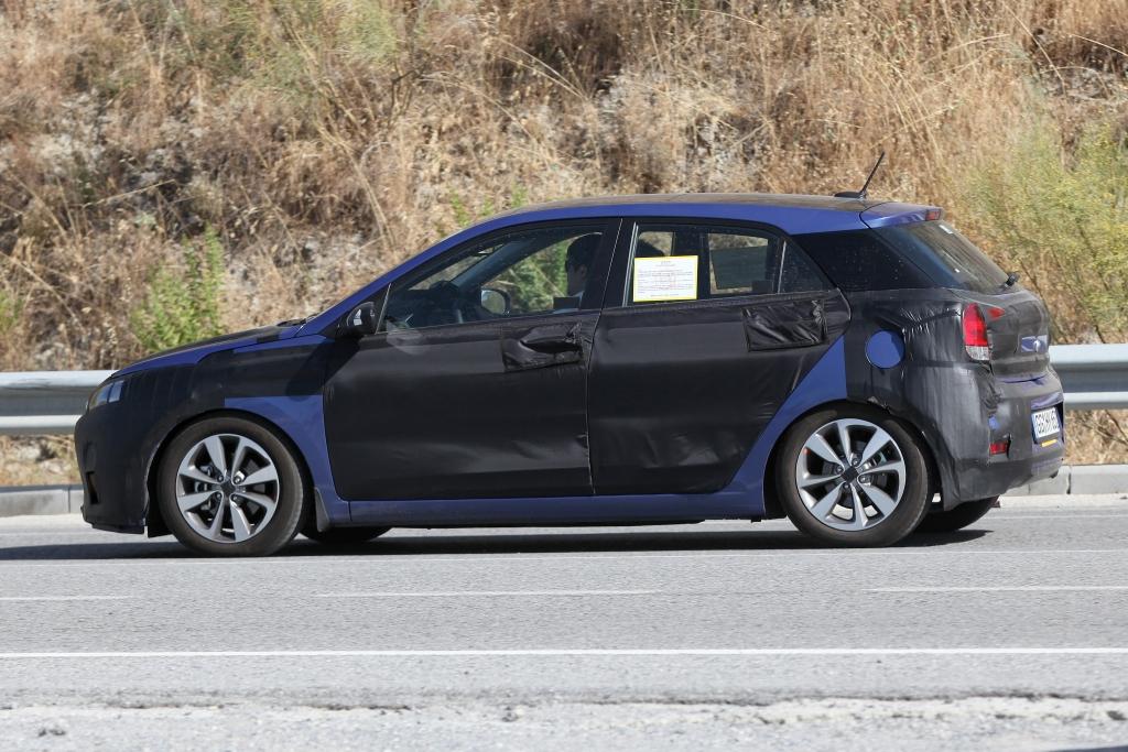 Erwischt: Erlkönig Hyundai i20 – Der kleine Koreaner wächst