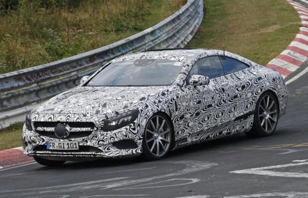 Erwischt: Erlkönig Mercedes S-Klasse Coupé – Sportlicher Luxus