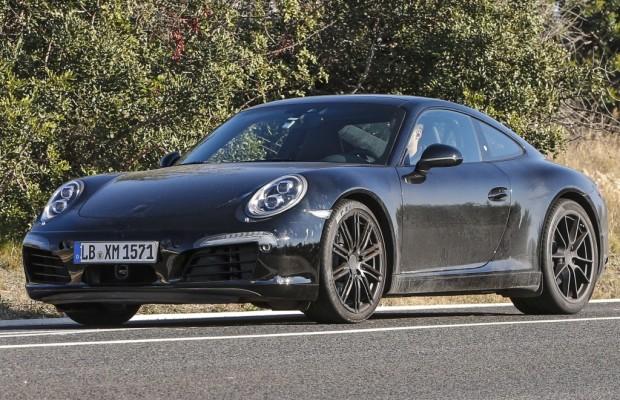 Erwischt: Erlkönig Porsche 911 – Modellpflege oder GTS