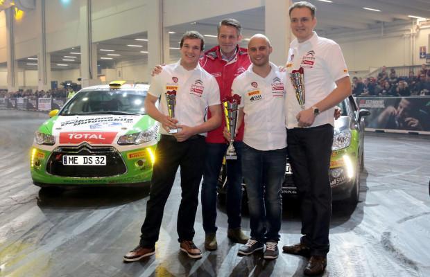 Essen 2013: Citroen ehrt Sieger der Citroën DS3 R1 Trophy